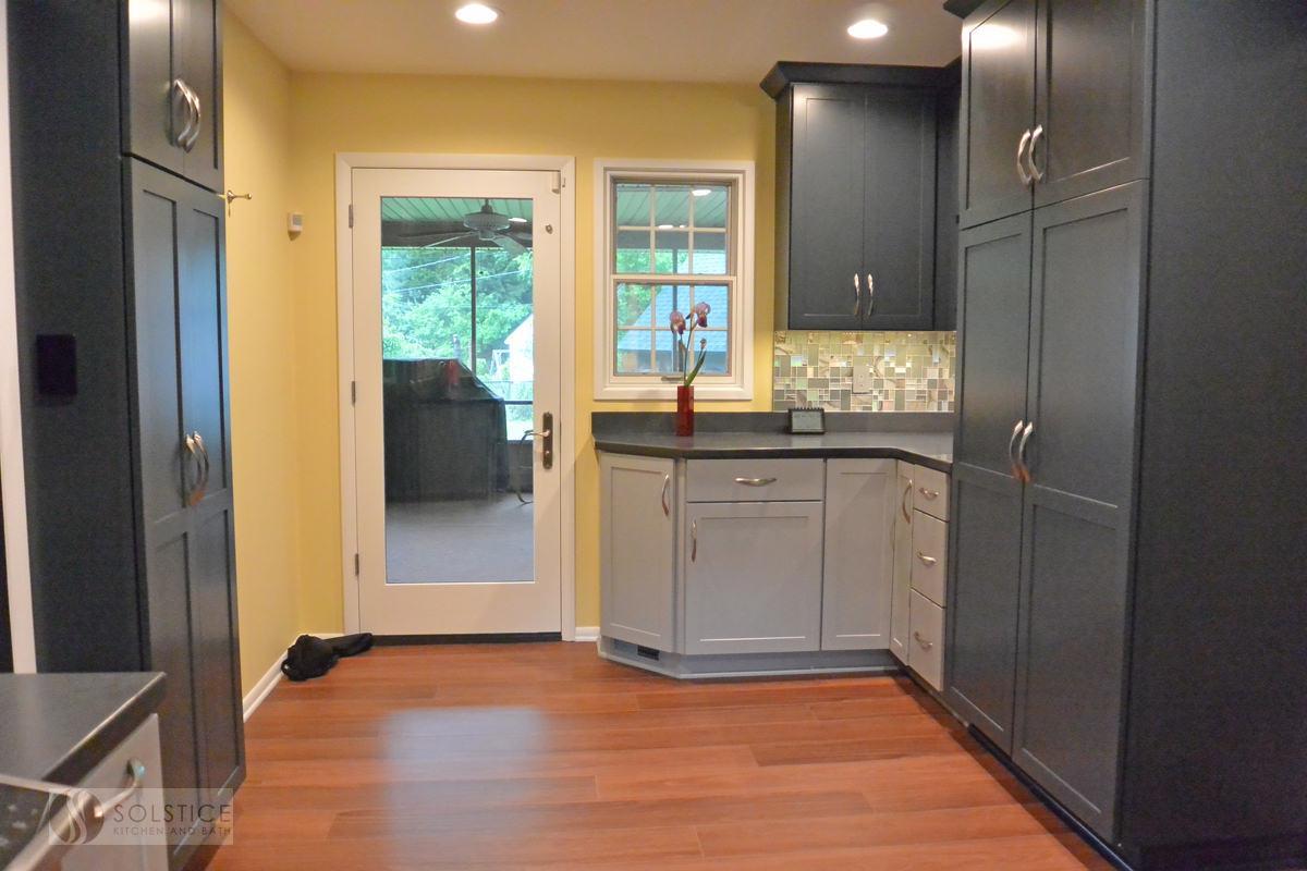 Sophisticated Gray Levit Kitchen In Bowie Solstice Kitchen