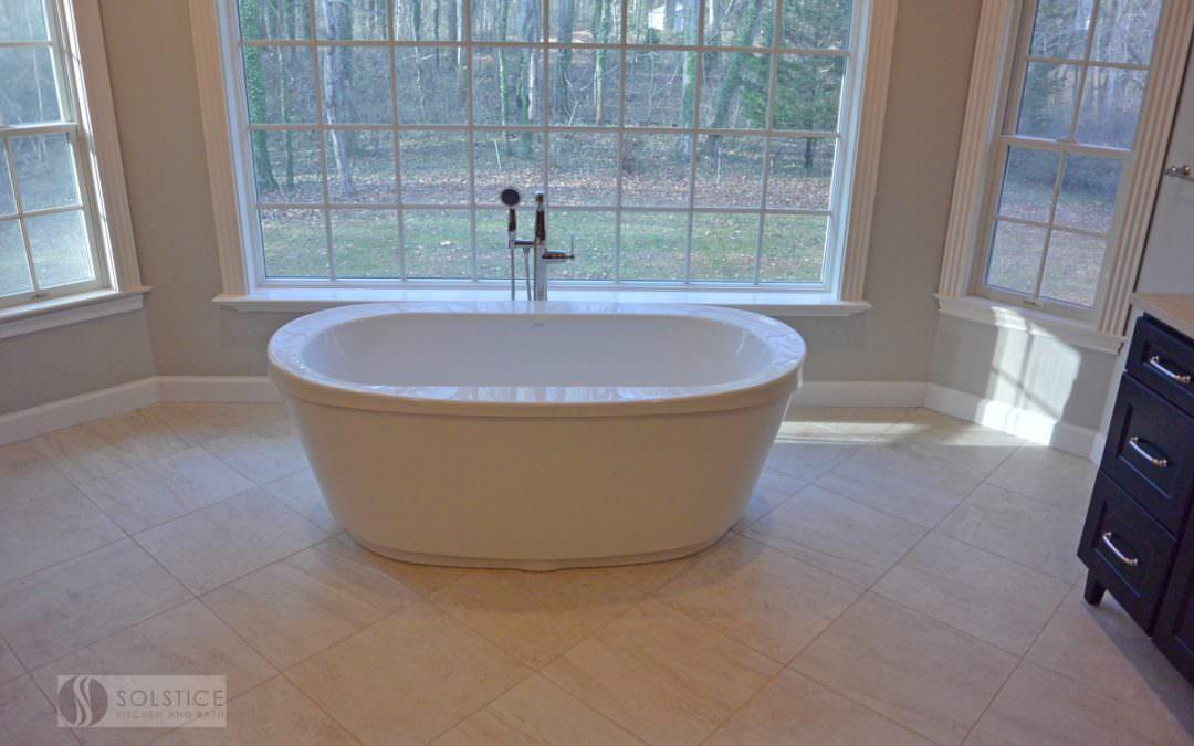 Elegant Master Bath in Crownsville