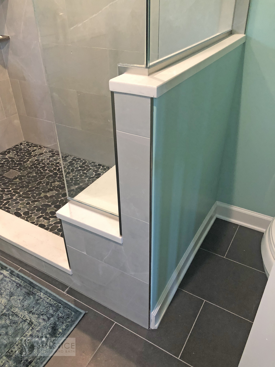 alcove shower design